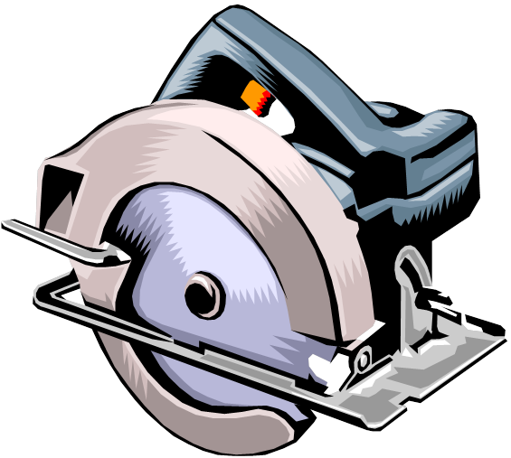 Clipart Electricity Free Electric Saw Clipart