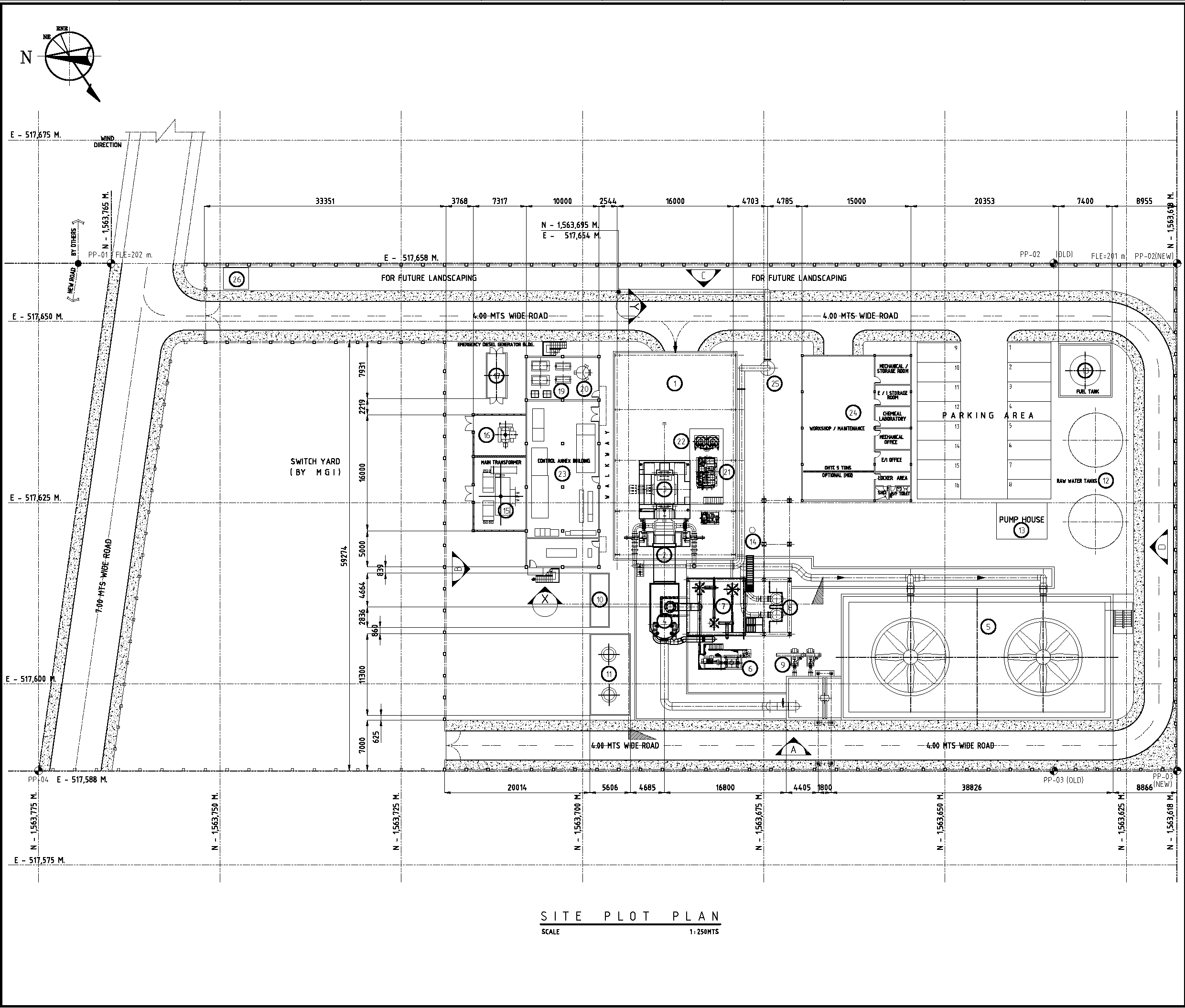 A Plot Plan shows the exact location of each equipment. Piping and Instrumentation  Diagrams ...
